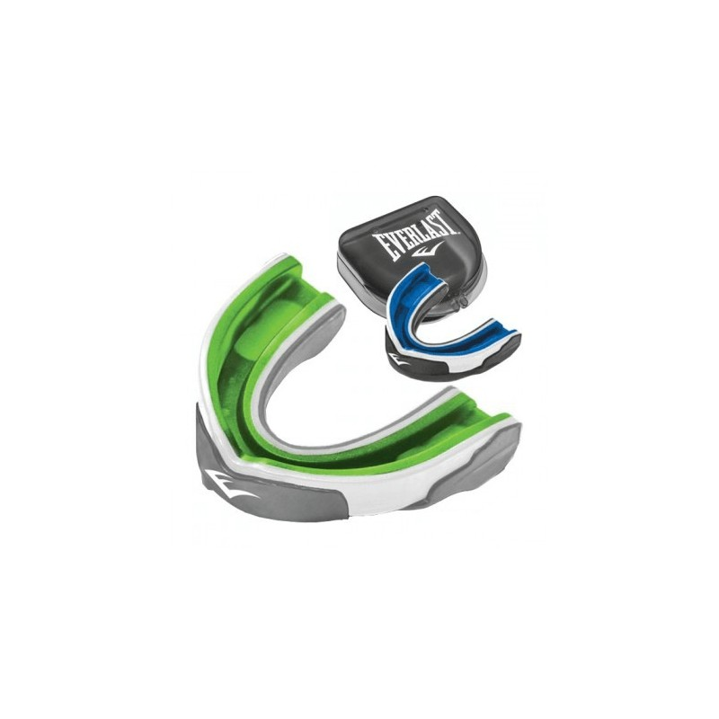 Protège-Dents Evergel Everlast de couleur vert et bleu
