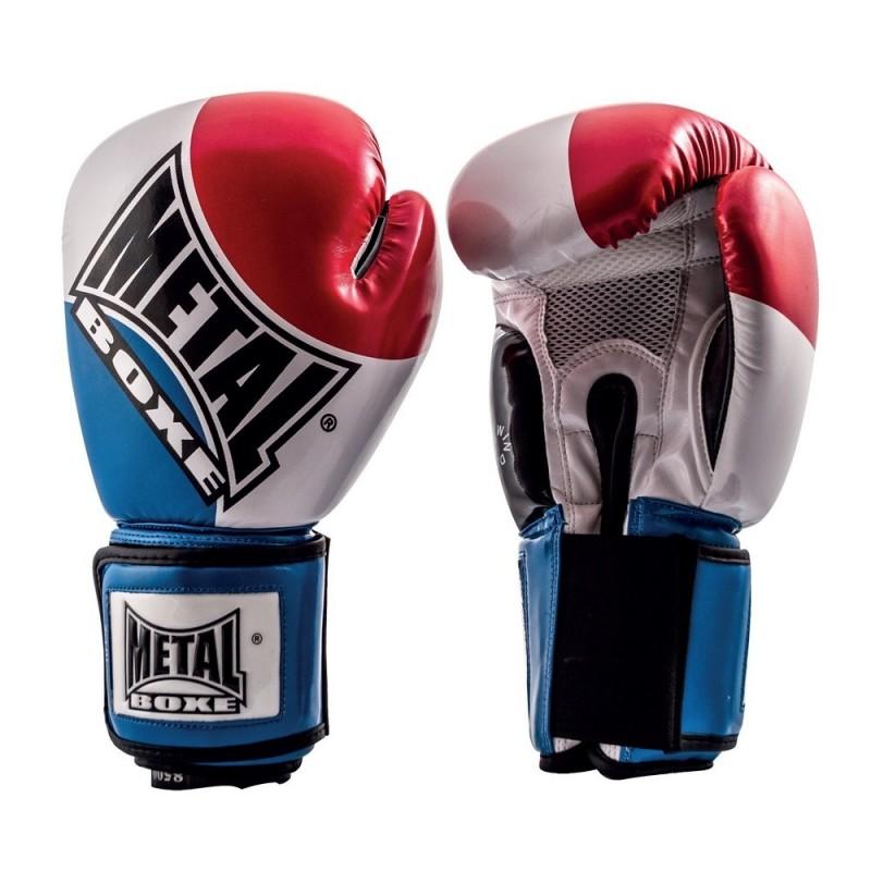 Gants de boxe d'entraînement au couleur du drapeau français